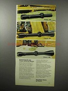 1970 Weaver Scope Ad - Classic 300; Classic 400; 600