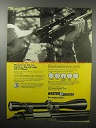 1970 Weaver Model K Scope Ad - Targets Big and Bright