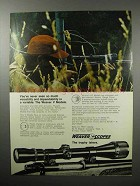 1970 Weaver V Model Scopes Ad - Dependability