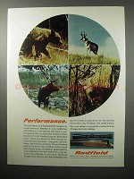 1970 Redfield Rifle Scope Ad - Performance