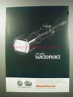 1970 Redfield Widefield Scope Ad!