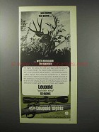 1970 Leupold Scope Ad - We'll Eliminate the Gamble