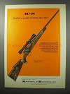 1970 H&R Ultra Wildcat Model 317 Rifle Ad - Quality