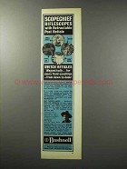 1970 Bushnell Rifle Scopes Ad - Scopechief Riflescopes