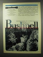 1970 Bushnell Scopechief IV Series Scope Ad