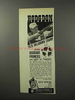 1970 Hodgdon Primers and Grey B Powder Ad
