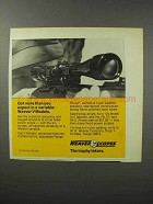 1970 Weaver V Model Scopes Ad - More Than You Expect