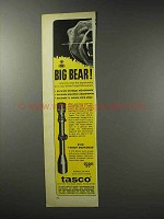 1969 Tasco 616W Target Marksman Scope Ad - Big Bear
