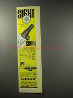 1969 Tasco Shot Saver Ad - Sight Shoot