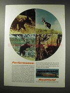 1969 Redfield Rifle Scopes Ad - Performance