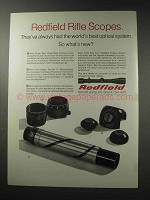 1969 Redfield Rifle Scopes Ad