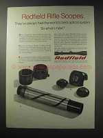 1969 Redfield Rifle Scopes Ad - Best Optical System