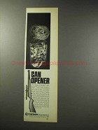 1969 Crosman Pumpmaster 1400 Pneumatic Rifle Ad