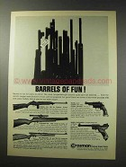 1969 Crosman Air Guns Ad - M-1 BB Air Carbine +