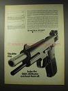 1969 Smith & Wesson .38 Master Pistol Ad - Little Ring