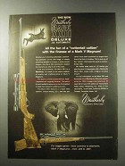 1969 Weatherby Mark XXII Deluxe Rifle Ad - Cottontail
