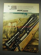 1969 Weaver V12 Scope Ad - Accuracy, Dependability