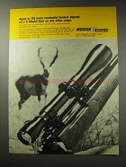 1969 Weaver K6 Scope Ad - Successful Hunters
