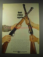 1969 Colt Stagecoach Carbine and Colteer Rifle Ad