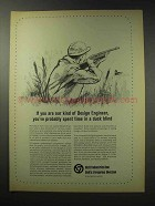 1969 Colt Firearms Ad - Spent Time in a Duck Blind