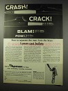 1969 Lyman Cast Bullets Ad - Separate Men from Boys