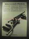 1969 Winchester 52 International Rifle Ad - Believe It