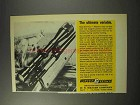 1969 Weaver V12 Scope Ad - The Ultimate Variable