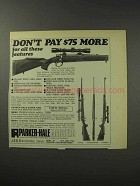 1969 Parker-Hale 1200 Mauser Rifle Ad - Don't Pay More