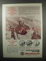 1968 Redfield Scopes Ad - Would Have Never Fired