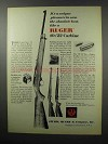 1968 Ruger 10/22 Autoloading Carbine Ad - Pleasure