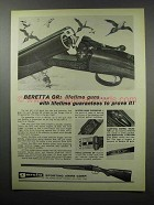 1968 Beretta GR Shotgun Ad - Lifetime Guns