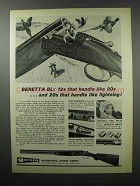 1968 Beretta BL Shotgun Ad - Handle Like Lightning
