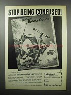 1968 Bushnell Sports Optics Ad - Stop Being Confused