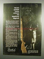 1968 Weatherby Magnum Rifle Ad - Trophy Collector
