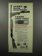 1968 High-Standard Shotgun Ad - Takes This Test