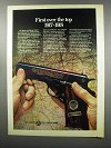 1968 Colt Belleau Wood Commemorative Pistol Ad