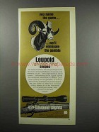 1968 Leupold Scopes Ad - We'll Eliminate the Gamble