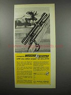 1968 Weaver Model K4 Scope Ad - Compare