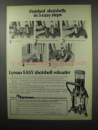 1968 Lyman Easy Shotshell Reloader Ad - Easy Steps