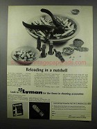 1968 Lyman 310 Reloading Tool Ad - In a Nutshell