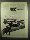1968 Bausch & Lomb Trophy Scopes Ad