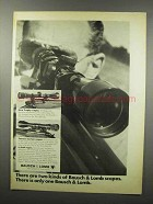 1968 Bausch & Lomb Trophy and Custom Scopes Ad