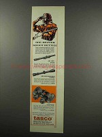 1967 Tasco Ad - #601 Tyro I, #620 Super Marksman Scope