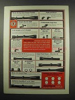 1967 Redfield Ad - Scopes, Sights and Mounts