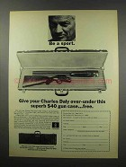 1967 Charles Daly Shotgun and Case Ad - Be a Sport