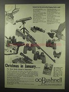 1967 Bushnell Sports Optics Ad - Scopes, Binoculars