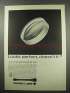 1967 Bausch & Lomb Scopes Ad - Looks Perfect