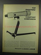 1967 Bausch & Lomb Balscope Ad - Top Shooters