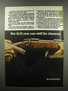 1967 Winchester Model 670 Rifle Ad - Still Be Choosy