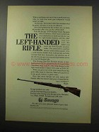 1967 Savage 110-P Premier Grade Big Game Rifle Ad